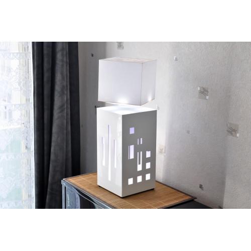 lampe anti-gravité MEGAPOLITE Cityline Blanche