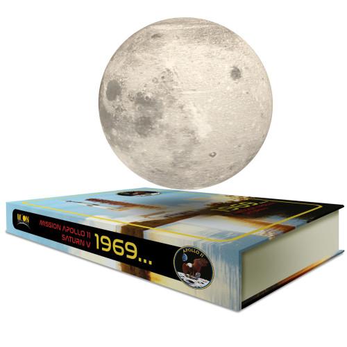 Base électromagnétique « Livre » MOONFLIGHT 1969 - Apollo 11