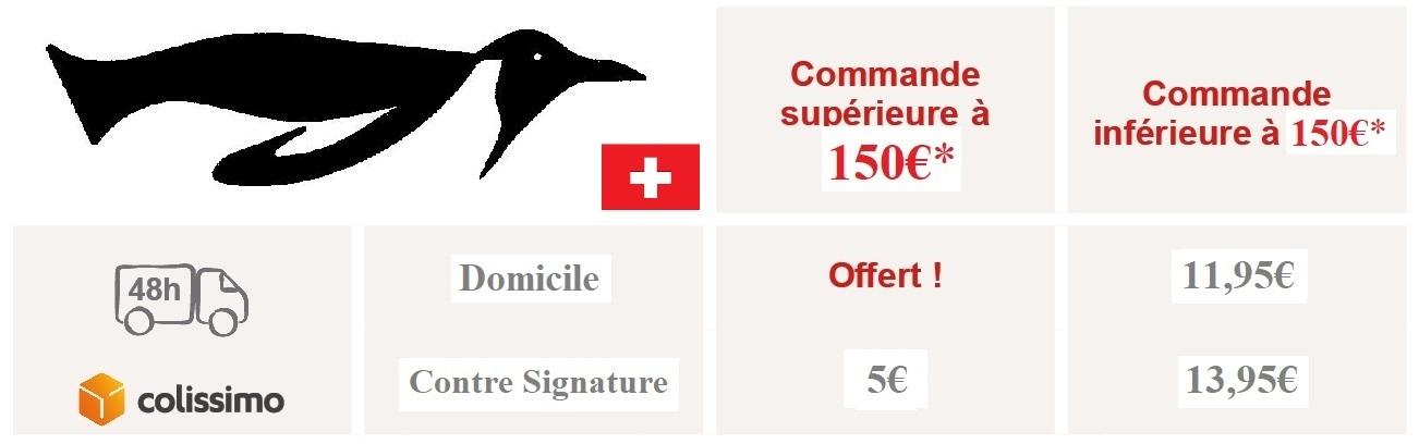 conditions livraison Suisse